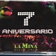 CDs de Música: CD PROMO SESION 7º ANIVERSARIO DISCOTECA LA MINA DISCO SALA- VALL DE UXÓ, CASTELLON - NUEVO. Lote 233774000