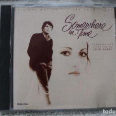 CDs de Música: BSO CD SOMEWHERE IN TIME EN ALGUN LUGAR DEL TIEMPO JOHN BARRY. Lote 233840665
