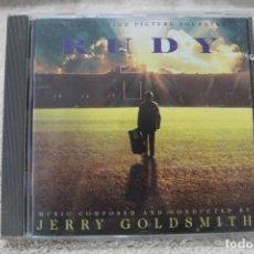 CDs de Música: BSO CD RUDY RUDY RETO A LA GLORIA JERRY GOLDSMITH. Lote 233841580