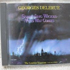 CDs de Música: BSO CD SOMETHING WICKED THIS WAY COMES EL CARNAVAL DE LAS TINIEBLAS GEORGES DELERUE. Lote 233842205