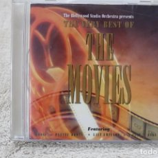 CDs de Música: BSO CD THE HOLLYWOOD STUDIO ORCHESTRA PRESENTS THE VERY BEST OF MOVIES. Lote 233848405