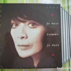 CDs de Musique: 6 CDS JULIETTE GRÉCO - JE SUIS COMME JE SUIS 1951-1977 (PHILIPS, FR, 1990). Lote 233863190