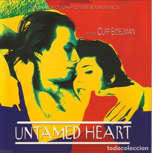 UNTAMED HEART / CLIFF EIDELMAN CD BSO (Música - CD's Bandas Sonoras)