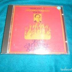 CDs de Música: JOAN MANUEL SERRAT. DEDICADO A ANTONIO MACHADO. POETA. CD. IMPECABLE. Lote 288973853