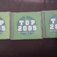 CDs de Música: LOTE TOP HITS 2005 3 CDS EN EXCELENTE ESTADO. Lote 233888890