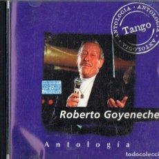 CDs de Música: ROBERTO GOYENECHE ANTOLOGÍA TANGO. Lote 233902130