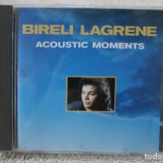 CDs de Música: CD BIRELI LAGRENE ACOUSTIC MOMENTS. Lote 233918210