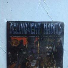 CDs de Música: DELINQUENT HABITS - MERRY GO ROUND PROMO. Lote 233924025