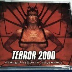 CDs de Música: CD ( TERROR 2000 - SLAUGHTERHOUSE ) 2000 SCARLET ITALY - THRASH, DEATH METAL. Lote 233937670