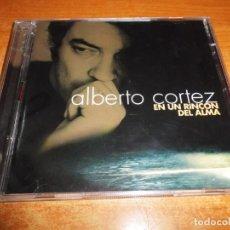 CDs de Música: ALBERTO CORTEZ EN UN RINCON DEL ALMA DOBLE CD ALBUM DEL AÑO 2001 CONTIENE 35 TEMAS 2 CD. Lote 234038610