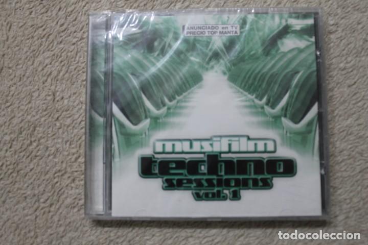 CD TECHNO SESSIONS VOL 1 DARIO NUÑEZ NACHO SERRANO PRECINTADO (Música - CD's Techno)