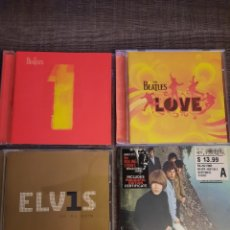 CDs de Música: ELVIS, ROLLING STONES, THE BEATLES. Lote 234099895