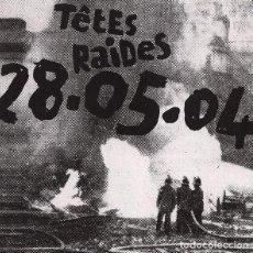CDs de Música: TÊTES RAIDES – 28.05.04 (CD DIGIPACK). Lote 234116495