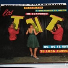 CDs de Música: CD DIGIPACK - SINGLES COLLECTION - LOS T.N.T - 1999 ARCADE - 12 TEMAS - POP VOCAL. Lote 234121140