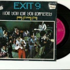 CDs de Música: EXIT 9. I LOVE YOU! LOVE YOU COMPLETELY. (VINILO SINGLE 1976). Lote 234171070