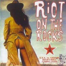 CDs de Música: RIOT ON THE ROCKS - VOL. 4. Lote 248433095