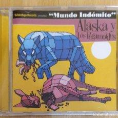 CDs de Música: ALASKA Y LOS PEGAMOIDES (MUNDO INDOMITO) CD 2009. Lote 234314270