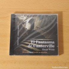 CDs de Música: AUDIO CD - AUDIOLIBRO. EL FANTASMA DE CANTERVILLE. OSCAR WILDE. NUEVO PRECINTADO.. Lote 234335900