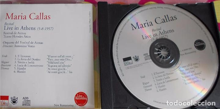 CDs de Música: MARIA CALLAS. Live in Athens 5.8.1957 (CD) - Foto 3 - 234339745