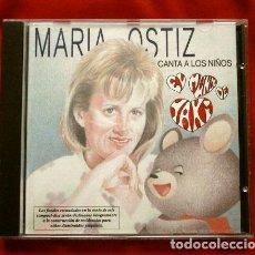 CDs de Música: MARIA OSTIZ CANTA A LOS NIÑOS (CD 1993) EL MUNDO DE YAKY (DISCO ESCASO Y RARO) JACQUIE - LOS NUMEROS. Lote 234346655