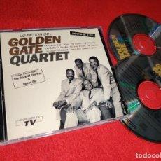 CDs de Música: GOLDEN GATE QUARTET LO MEJOR DEL 2CD 1994 HISPAVOX ESPAÑA SPAIN EXCELENTE ESTADO. Lote 234348585