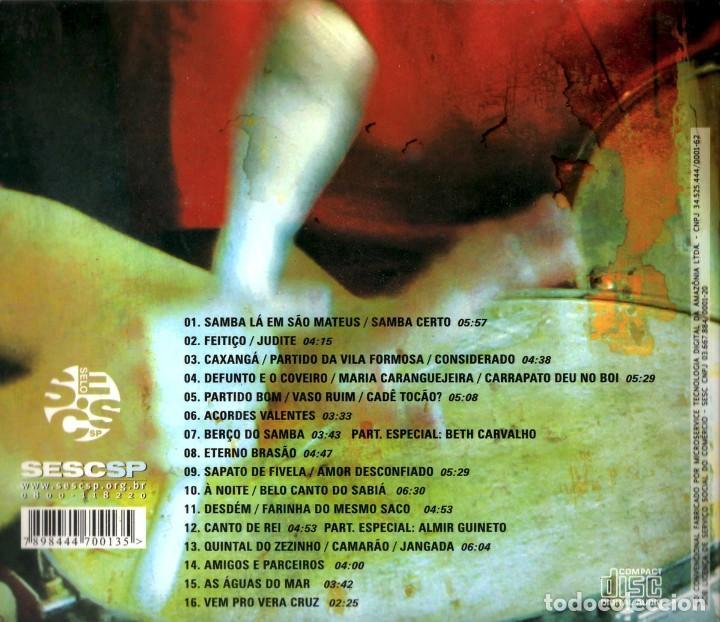 CDs de Música: BERÇO DO SAMBA de Sao Mateus (CD DIGIPACK) - Foto 2 - 234344640