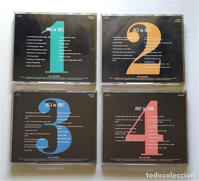 CDs de Música: Elton John. To be continued. 4 cd´s - Foto 2 - 234364465