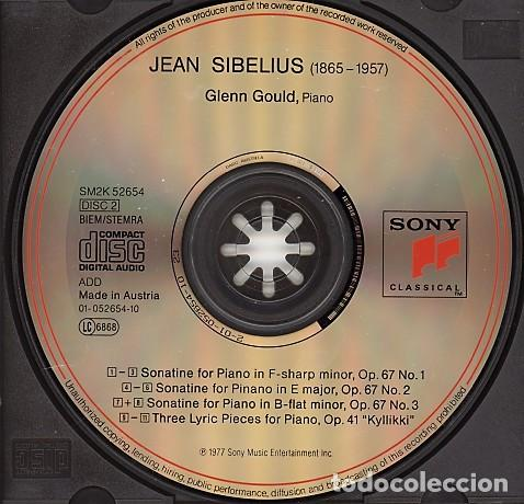 CDs de Música: THE GLEN GOULD EDITION. Grieg / Bizet / Sibelius: Piano Works (2 CD) - Foto 4 - 234369955