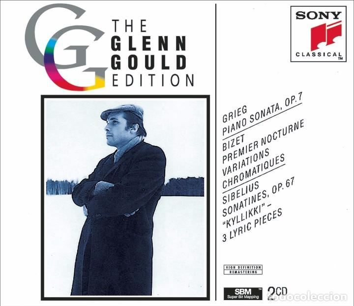 CDs de Música: THE GLEN GOULD EDITION. Grieg / Bizet / Sibelius: Piano Works (2 CD) - Foto 1 - 234369955