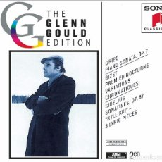 CDs de Música: THE GLEN GOULD EDITION. GRIEG / BIZET / SIBELIUS: PIANO WORKS (2 CD). Lote 234369955