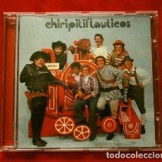 CDs de Música: CHIRIPITIFLAUTICOS (CD 1973) LOS CHIRIPITIFLAUTICOS (DISCO ESCASO Y RARO) VALENTINA LOCOMOTORO CAPI. Lote 234371370