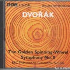 CDs de Música: DVORAK: LA RUECA DE ORO. SINFONÍA N.8 NOSEDA. Lote 234395945
