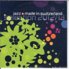 CDs de Música: JAZZ MADE IN SWITZERLAND SELECCIÓN 2012/3. Lote 234401655