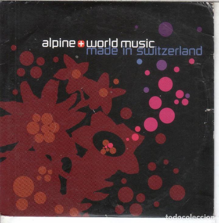 MÚSICA ALPINA Y DEL MUNDO EN SELLOS DISCOGRÁFICOS SUIZOS (Música - CD's World Music)
