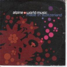 CDs de Música: MÚSICA ALPINA Y DEL MUNDO EN SELLOS DISCOGRÁFICOS SUIZOS. Lote 234407610