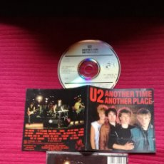 CDs de Música: U2: ANOTHER TIME ANOTHER PLACE. CD RECORDED LIVE DURING THE 1981 TOUR.SOUNDBOARD RECORDING. RAREZA.. Lote 234461035
