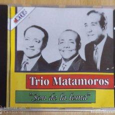 CDs de Música: TRIO MATAMOROS (SON DE LA LOMA) CD 1991 CUBA. Lote 234485450