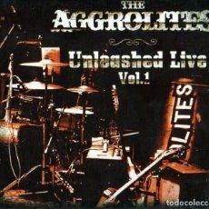 CDs de Música: THE AGGROLITES - UNLEASHED LIVE VOL.1. Lote 214533757