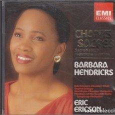 CDs de Música: BARBARA HENDRICKS - CHANTS SACRES - CD. Lote 234627145