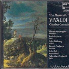 CDs de Música: ANTONIO VIVALDI - LA PASTORELLA - CHAMBER CONCERTOS - CD. Lote 234641430