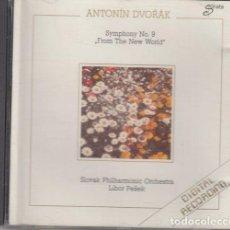 CDs de Música: ANTONIN DVORAK - SYMPHONY NO 9 - SLOVAK PHILHARMONIC ORCHESTRA - CD. Lote 234655240