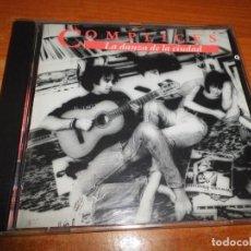 CDs de Música: COMPLICES LA DANZA DE LA CIUDAD CD ALBUM DEL AÑO 1990 TEO CARDALDA 9 TEMAS DAVID SUMMERS HOMBRES G. Lote 234666950