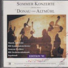 CDs de Música: SOMMER KONZERTE - DONAU UND ALTMÜHL - CD. Lote 234667165