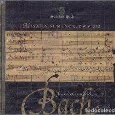 CDs de Música: BACH - MISA EN SI MENOR BWV 232 - CD. Lote 234667490