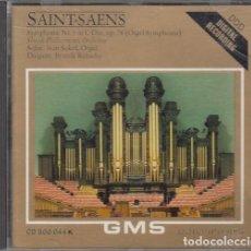 CDs de Música: CAMILLE SAINT-SAENS - SYMPHONIE NR IN C-DUR OP 78 - CD. Lote 234669425