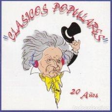 CDs de Música: CLASICOS POPULARES - 20 AÑOS - CD. Lote 234671405