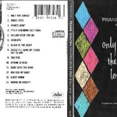CDs de Música: FRANK SINATRA - SINGS FOR ONLY THE LONELY. Lote 234687310