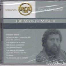 CDs de Musique: FACUNDO CABRAL - 100 AÑOS DE MUSICA - CD NUEVO PRECINTADO. Lote 234728600