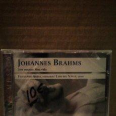 CDs de Música: JOHANNES BRAHMS/TRES SONATAS, UNA VIDA. Lote 234779775