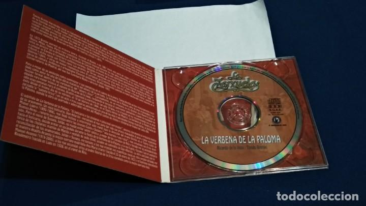 CDs de Música: CD DIGIPAKC (LA VERBENA DE LA PALOMA COMPLETA - RICARDO DE LA VEGA / TOMÁS BRETÓN ) 2009 NOVOSON - Foto 4 - 234784565